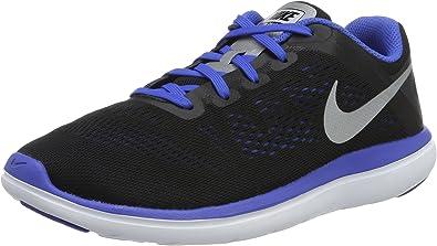 Nike Flex 2016 RN (GS), Zapatillas de Running para Niños, Negro ...