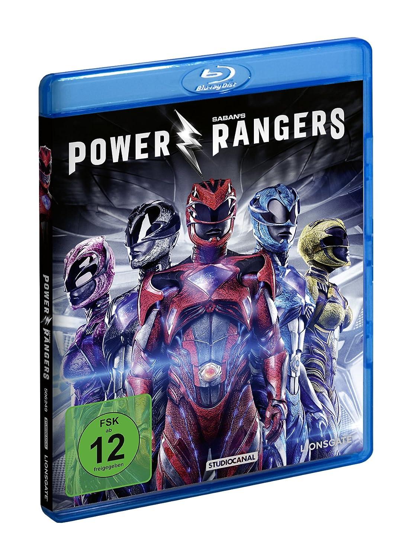Power Rangers [Blu-ray]: Amazon.es: Naomi Scott, Dacre Montgomery, Ludi Lin, RJ Cyler, Elizabeth Banks, Bryan Cranston, Becky G., Dean Israelite: Cine y ...