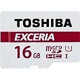 Toshiba Exceria M301 16GB Micro SD Class 10 UHS-I 48MB/s Memory Card (THN-M301R0160U2)