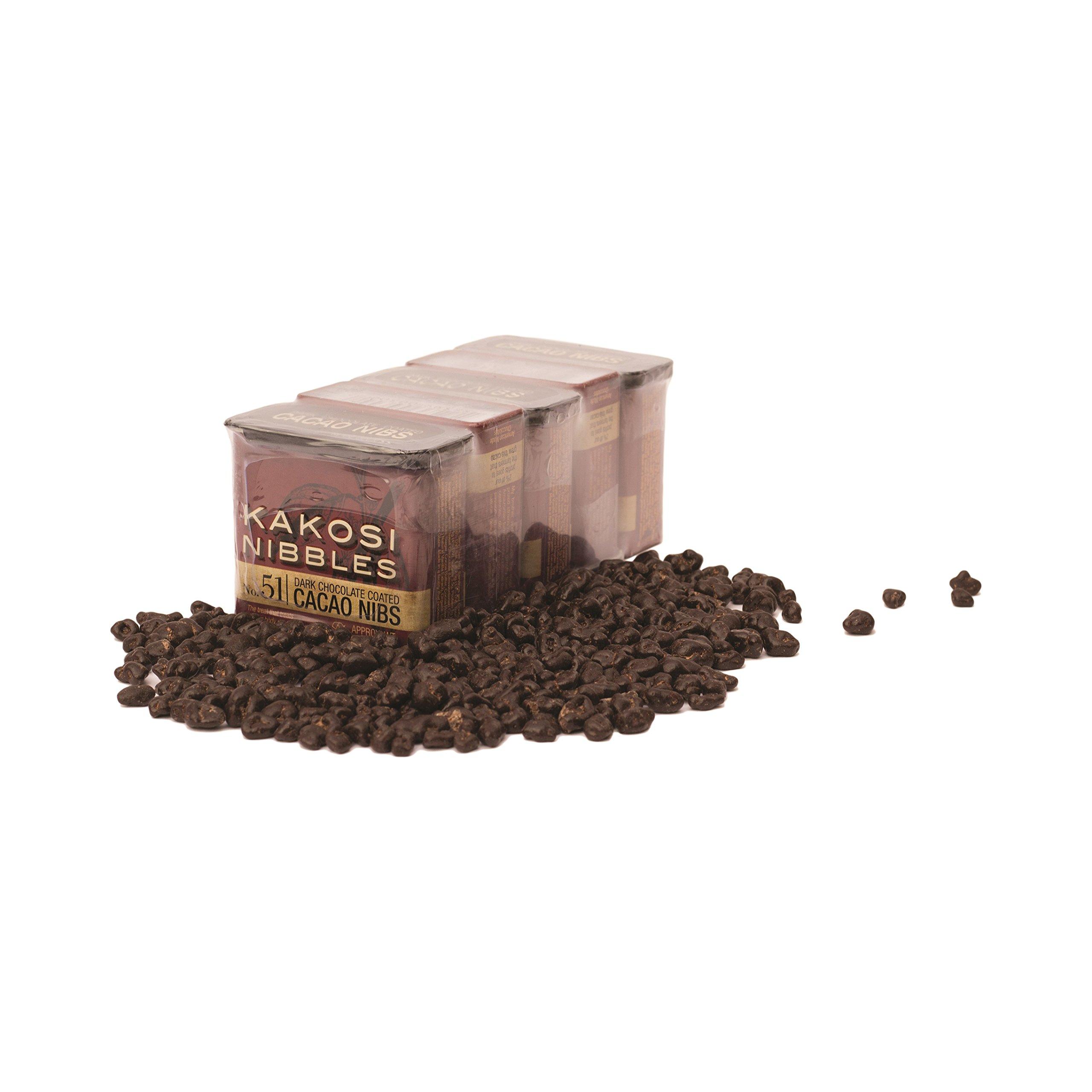 KAKOSI Chocolate Covered Nibs - 5 Pack