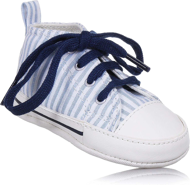 Converse Scarpe Neonato Ctas First Star Hi Bianco Blu 861011C-NAVY//WHITE//NAVY