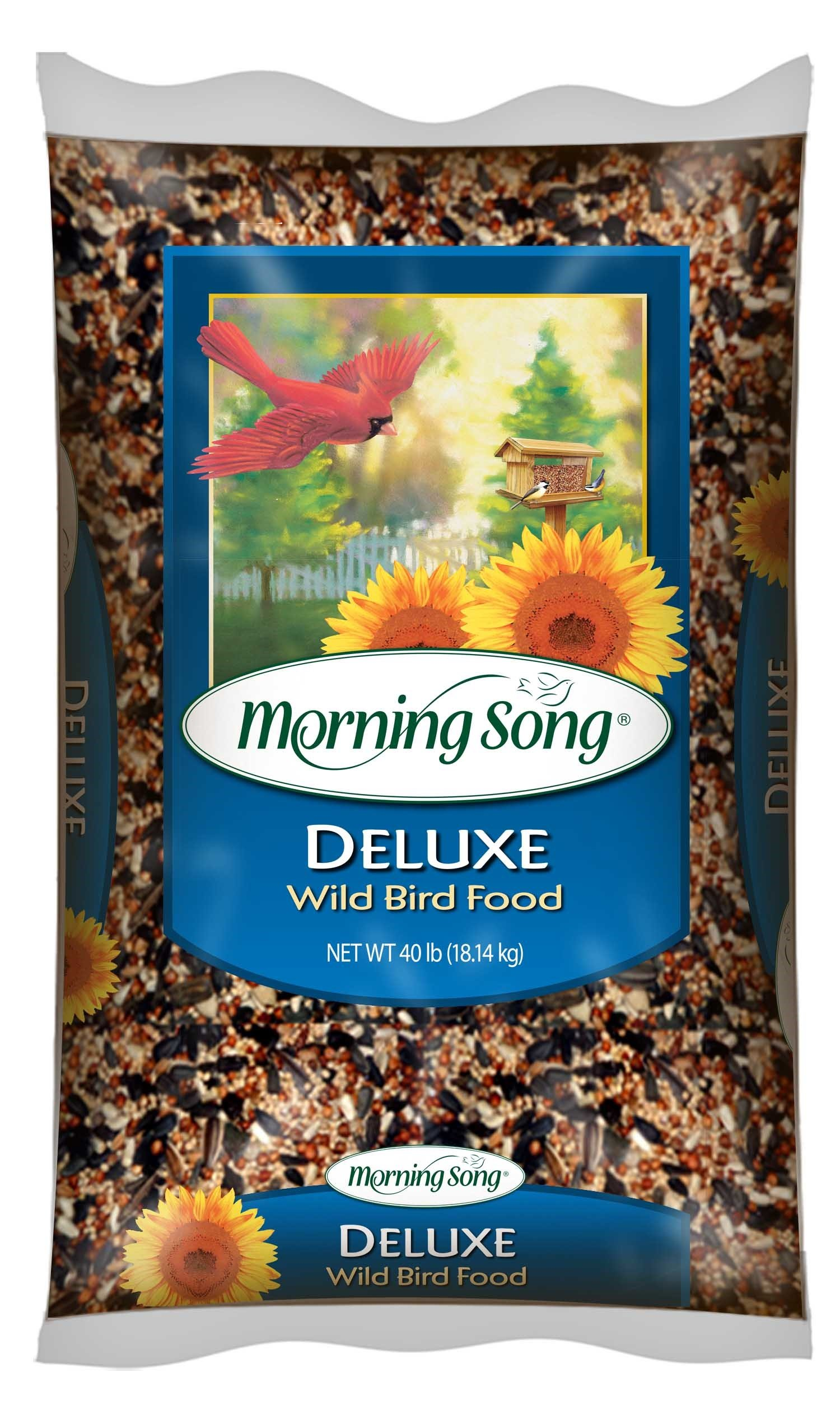 Morning Song 11353 Deluxe Wild Bird Food, 40-Pound by Morning Song