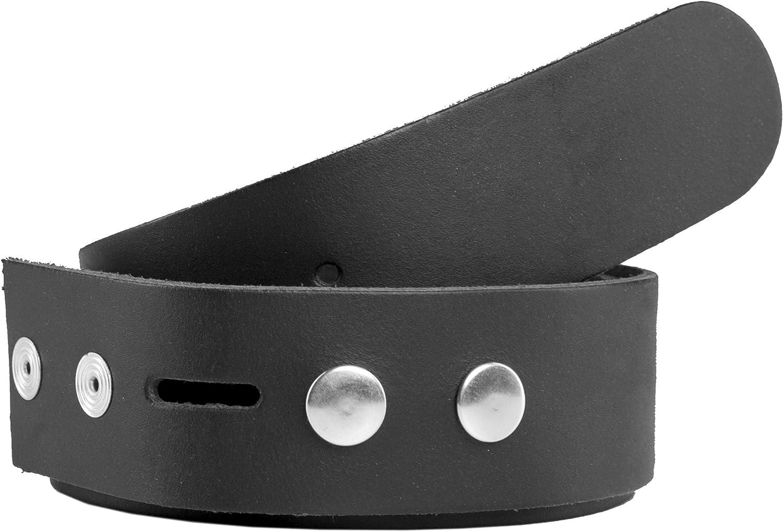 Correa de recambio para cintur/ón unisex shenky 4 cm de ancho Para cambiar hebilla Cuero aut/éntico
