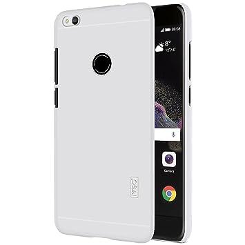IVSO Funda Huawei P8 Lite Slim Concha Dura Funda Protectora de Carcasa Funda para Huawei P8 Lite 2017 Smartphone (Blanco)