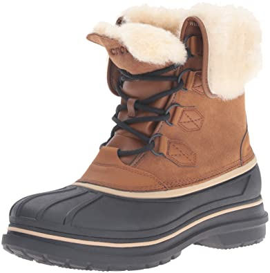 81e8936d8 crocs Men s AllCast II Luxe Snow Boot