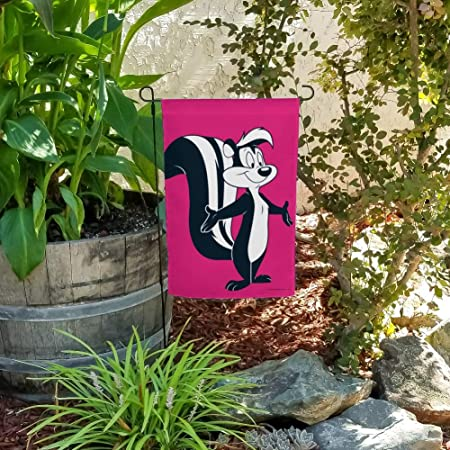 """Looney Tunes Pepé Le Pew 1/"""" Wide Repeat Ribbon Sold in Yard Lots"""