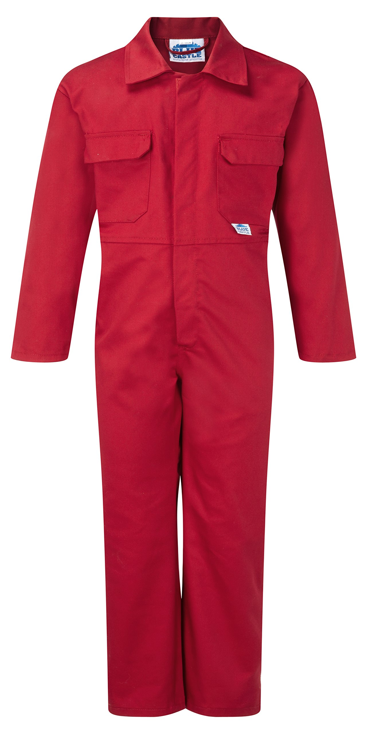 "Castle Clothing Children's Coveralls - Red (Chest Size = 20"")"