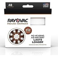Rayovac Proline Advanced Mercury-Free Hearing Aid Batteries44; Box - 4844; Size 312