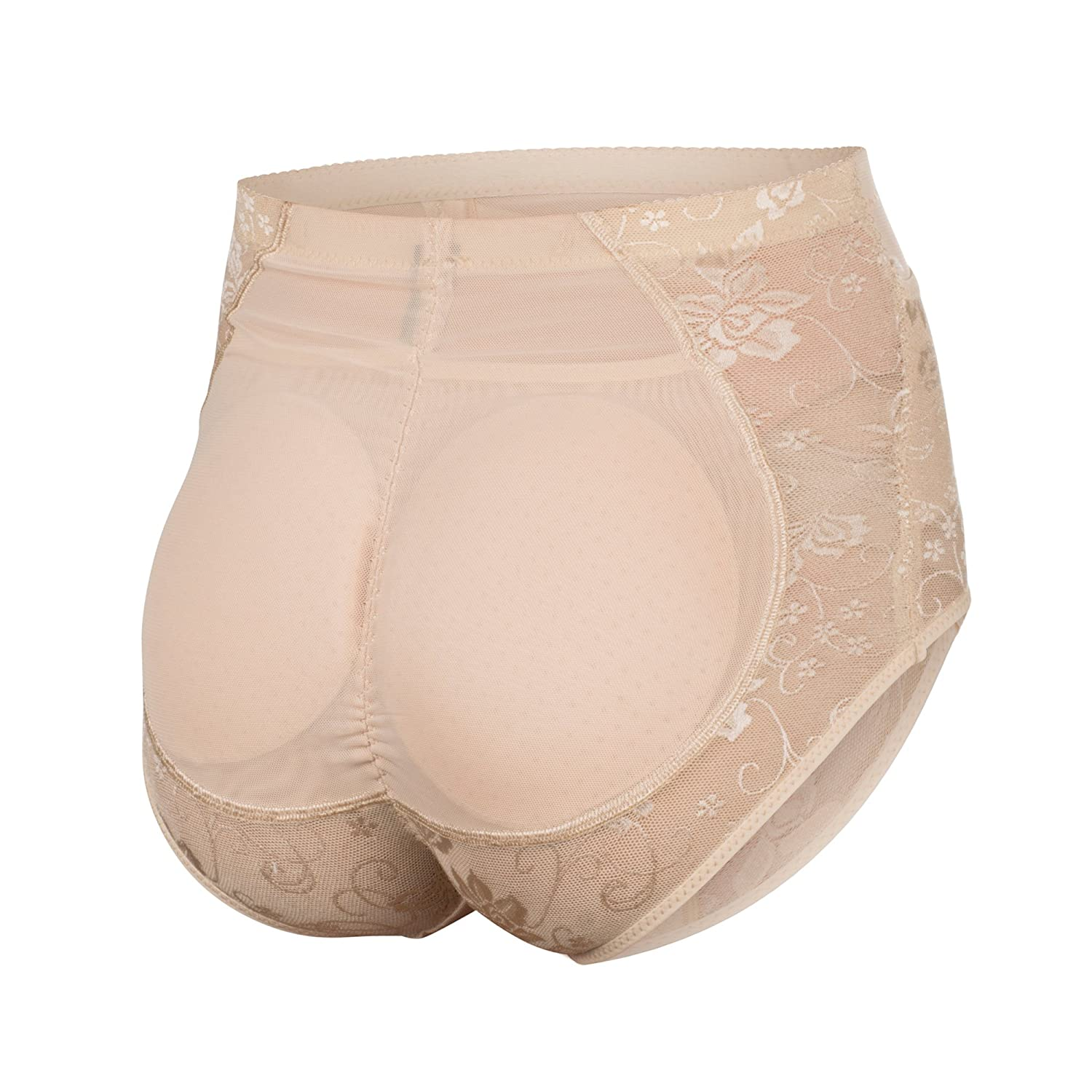 816a18ea31b1 Inteco Intimates Womens Lace Brief Shapewear with Butt Enhancer Girdle:  Amazon.ca: Clothing & Accessories