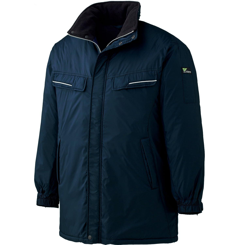 ミドリ安全 【もっと、動ける服を。VERDEXCEL】 《軽量防寒服》 コート VE1010 B00PLTEQ0K 3L ネイビー