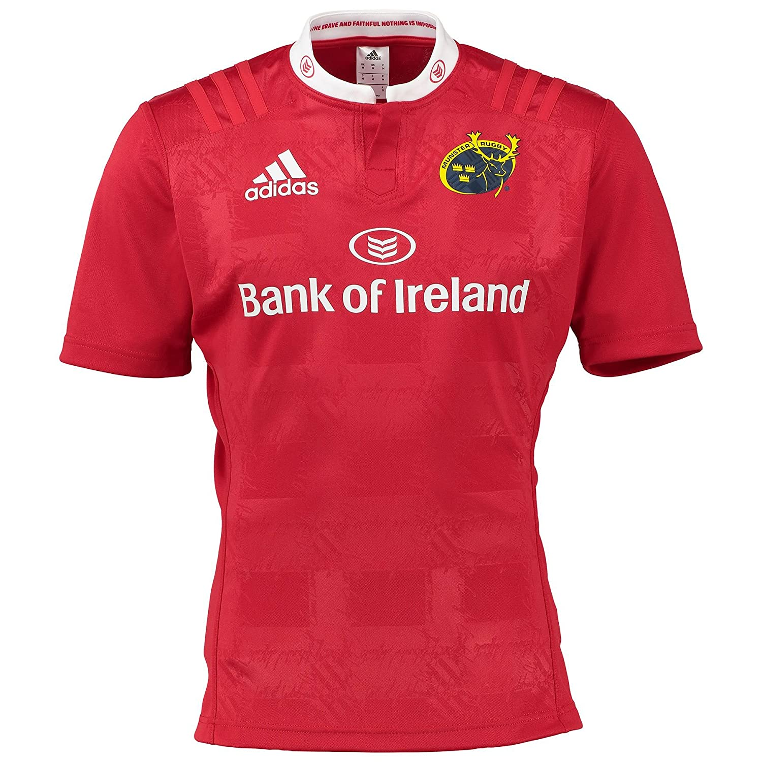 2015-2016 Munster Adidas Home Rugby Shirt: Amazon.es: Deportes y aire libre