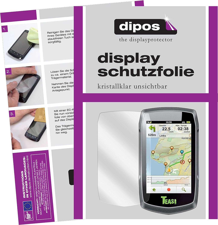 2x Displayschutz Folie Klar für A-Rival Teasi One4 HR Schutzfolie Displayfolie