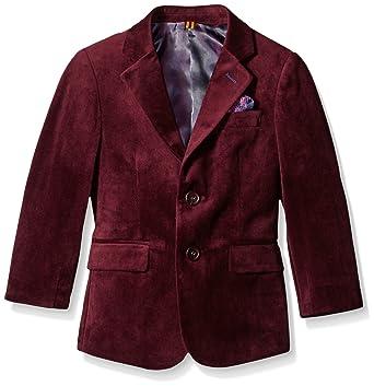 4ab50200a Amazon.com  Isaac Mizrahi Boys  Single-Breasted Velvet Blazer  Clothing