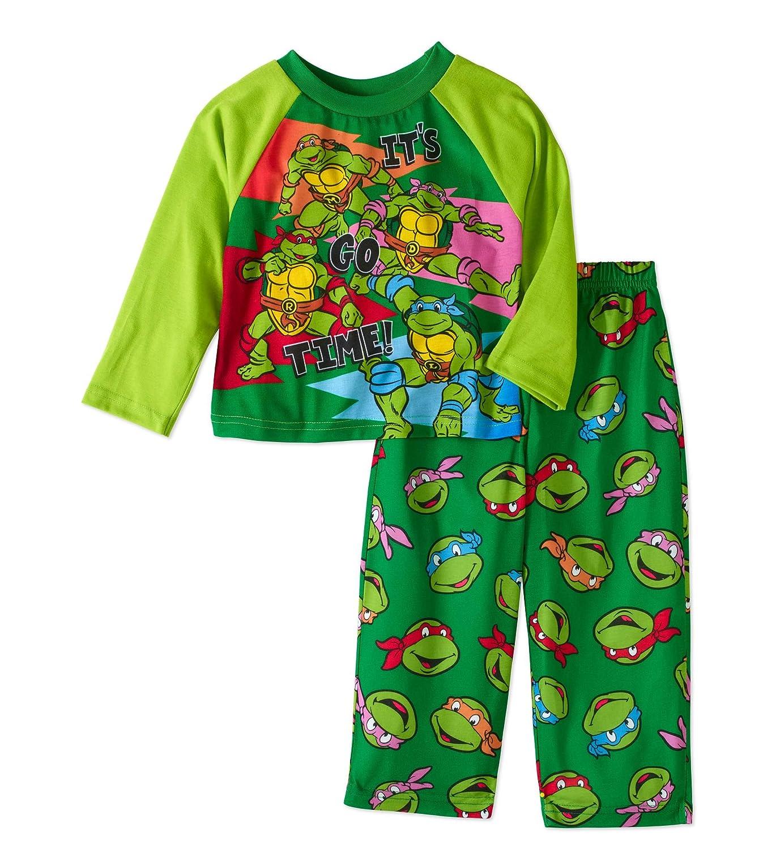 discount Teenage Mutant Ninja Turtles TMNT Little Boys' Toddler 2-Piece Pajamas