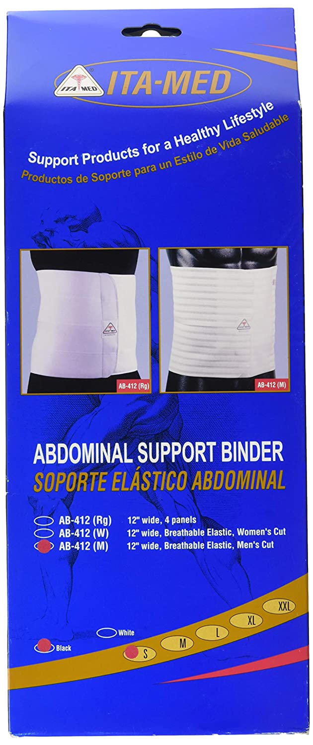 Amazon.com: ITA-MED Breathable Elastic Abdominal Postsurgical Recovery Support Stomach Wrap Slimming Body Shaping Binder for Abdomen, Back and Lumbo-sacral ...