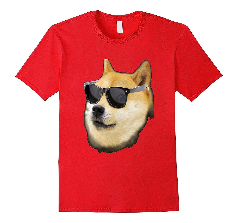 Cool Sunglasses Doge Meme T-Shirt-BN