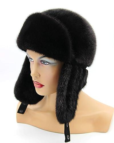 Amazon.com  Woman s Fur Hat e91f58d3712
