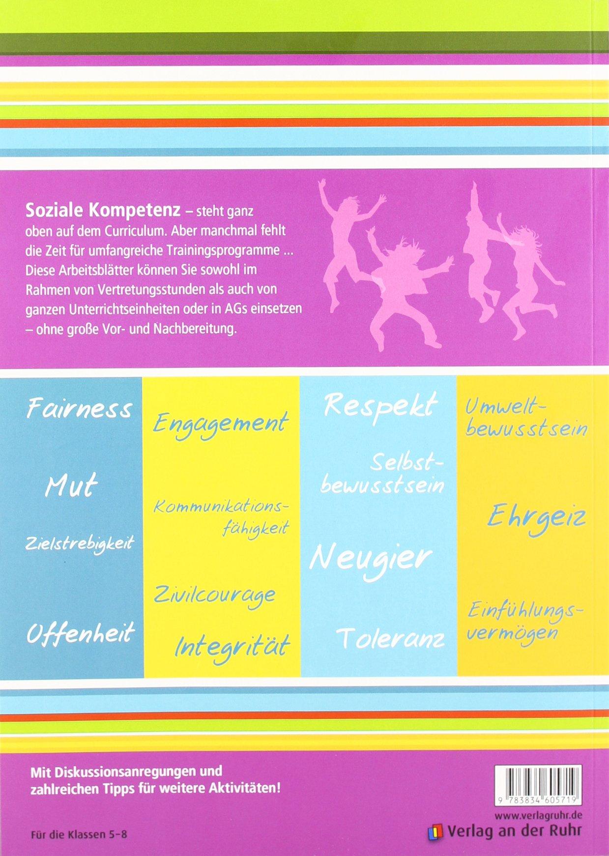 Tolerant! Engagiert! Selbstbewusst!: 80 Arbeitsblätter für soziales ...