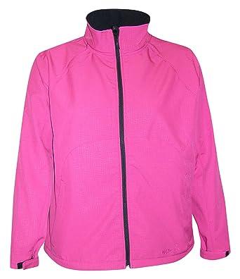 52b833c752f Pulse Womens Plus Size Micro Fleece Soft Shell Jacket 1X-5X (1X (16 ...