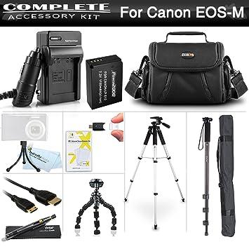 Avanzado Kit De Accesorios Para El Nuevo Canon EOS SL1 Cámaras ...