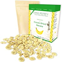 Freeze Dried Banana: Delicious Crispy Fruits 3.9oz (110g) Large Bulk Re-Sealable Bag in a Sturdy Protective Box: Taste…