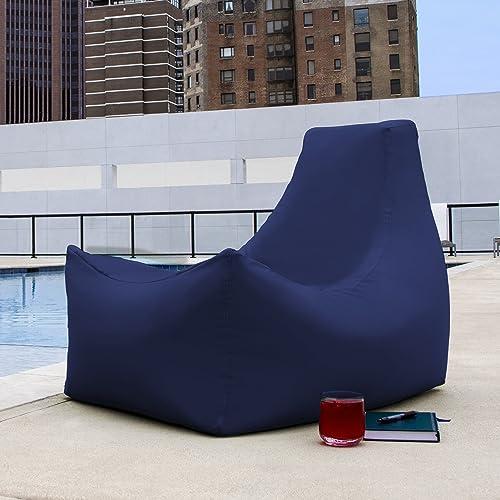 Jaxx Juniper Chaise Lounge, Navy