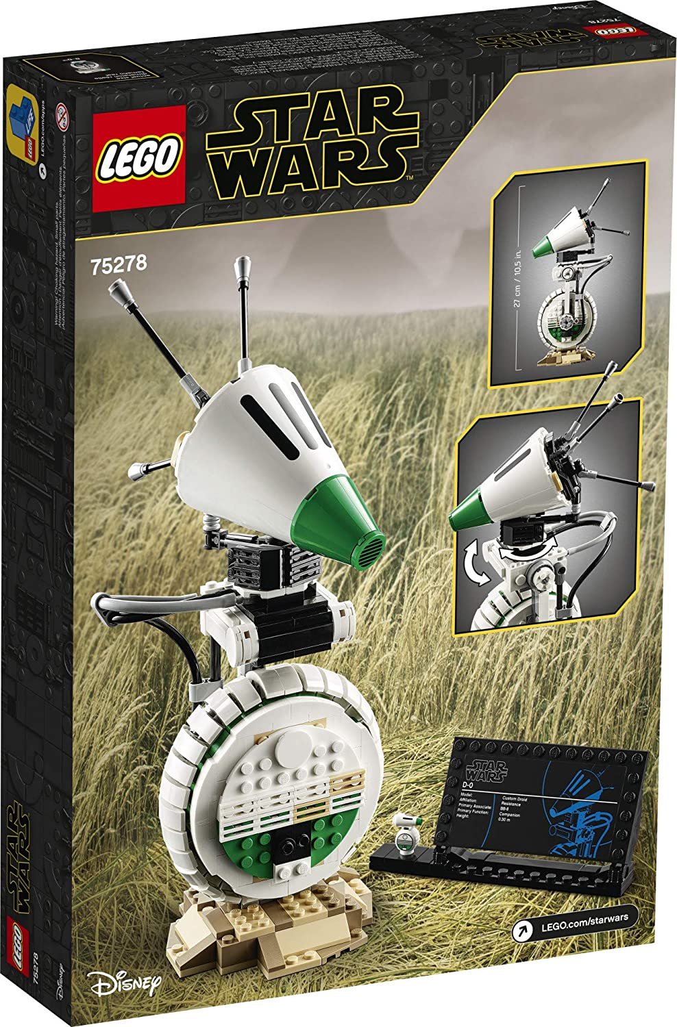 Lego ® Star WarsFigure Droid D-O From Set 75249New /& UnusedSW1051