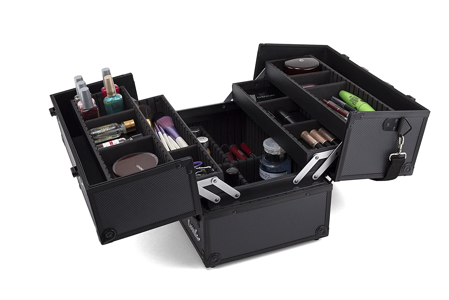 Amazon.com: Maquillaje Train Case – Profesional 14