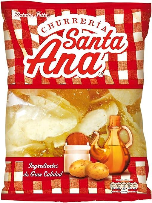Churrería Santa Ana Patatas Fritas con Sal - 190 g: Amazon.es ...