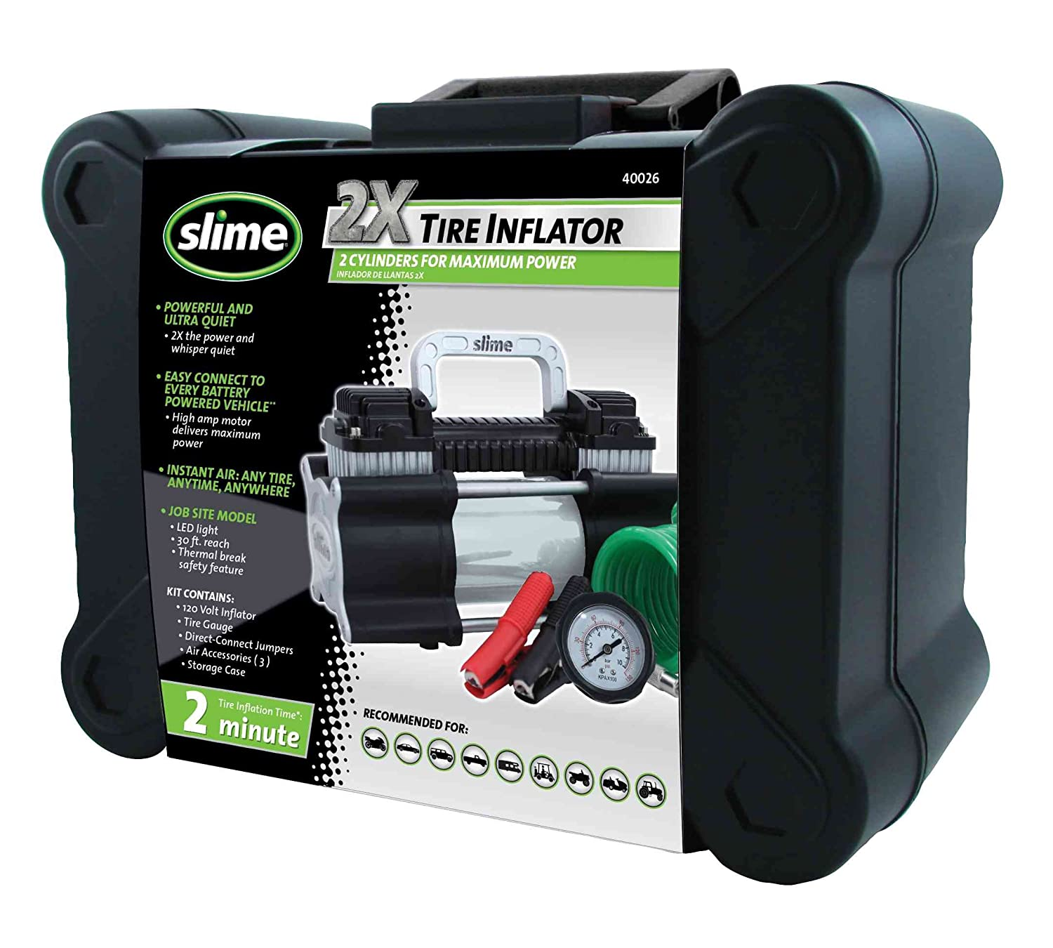7. Slime 40026 Heavy Duty Tire Inflator