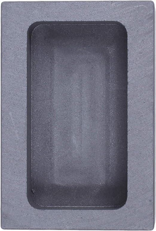 JOJOZZ Pura Molde de Grafito del crisol de fundici/ón de lingotes de aleaci/ón de Acero para Herramientas