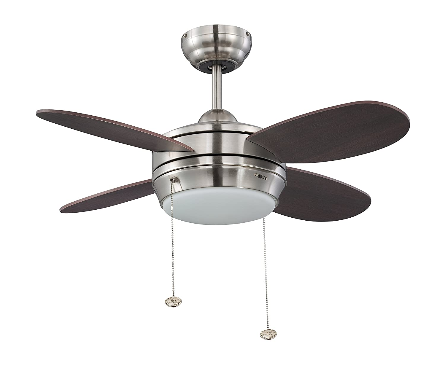 Litex e mlv36bnk4lk1 maksim collection 36 inch ceiling fan with five litex e mlv36bnk4lk1 maksim collection 36 inch ceiling fan with five wench wood blades and single light kit with opal frosted glass amazon aloadofball