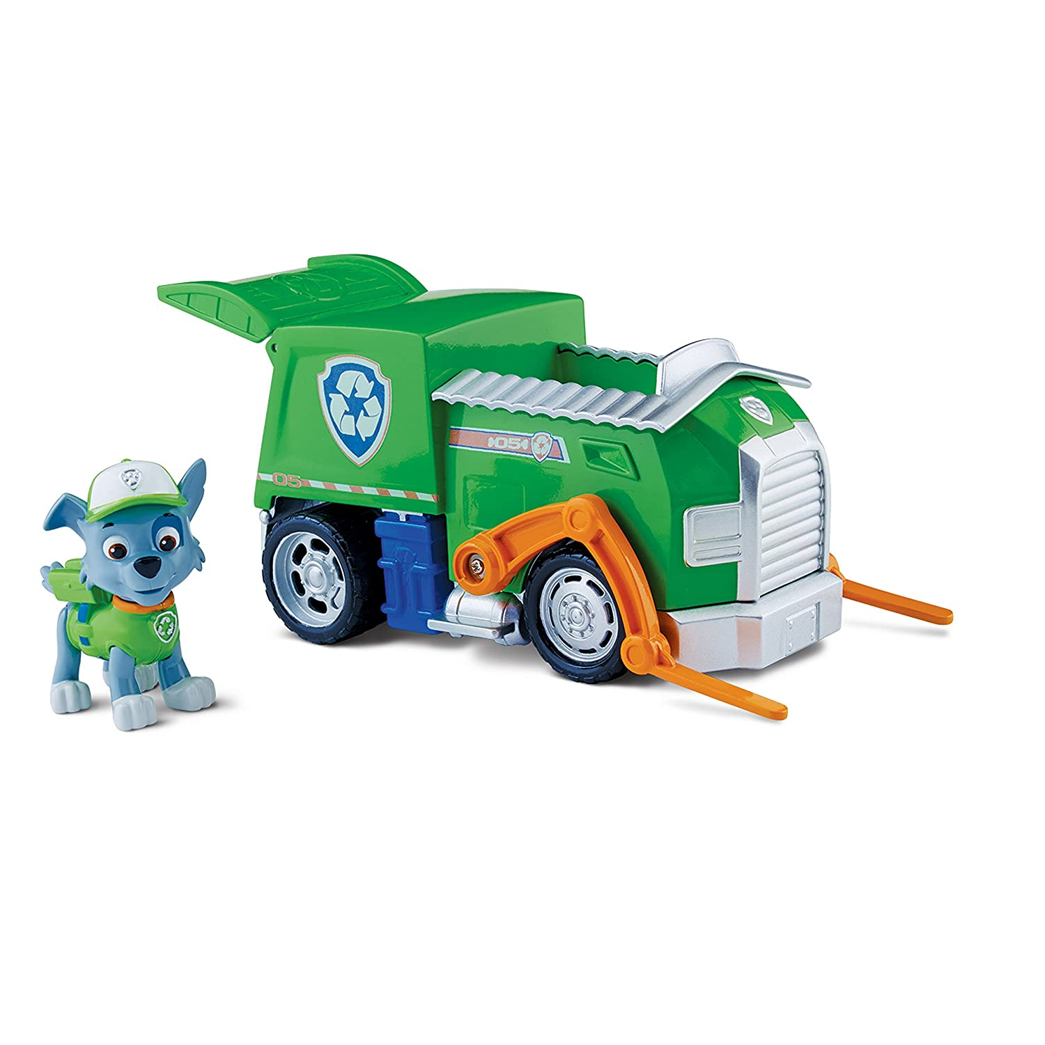 Paw Patrol 20065127 Rocky's Recycling Truck, Vehicle and Figure 20065127-6024018