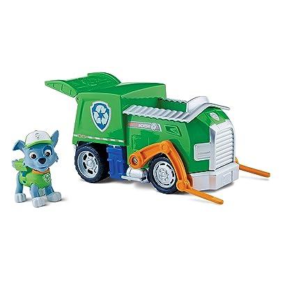 Amazon.com  Paw Patrol Rocky s Recycling Truck 76dc8d225796