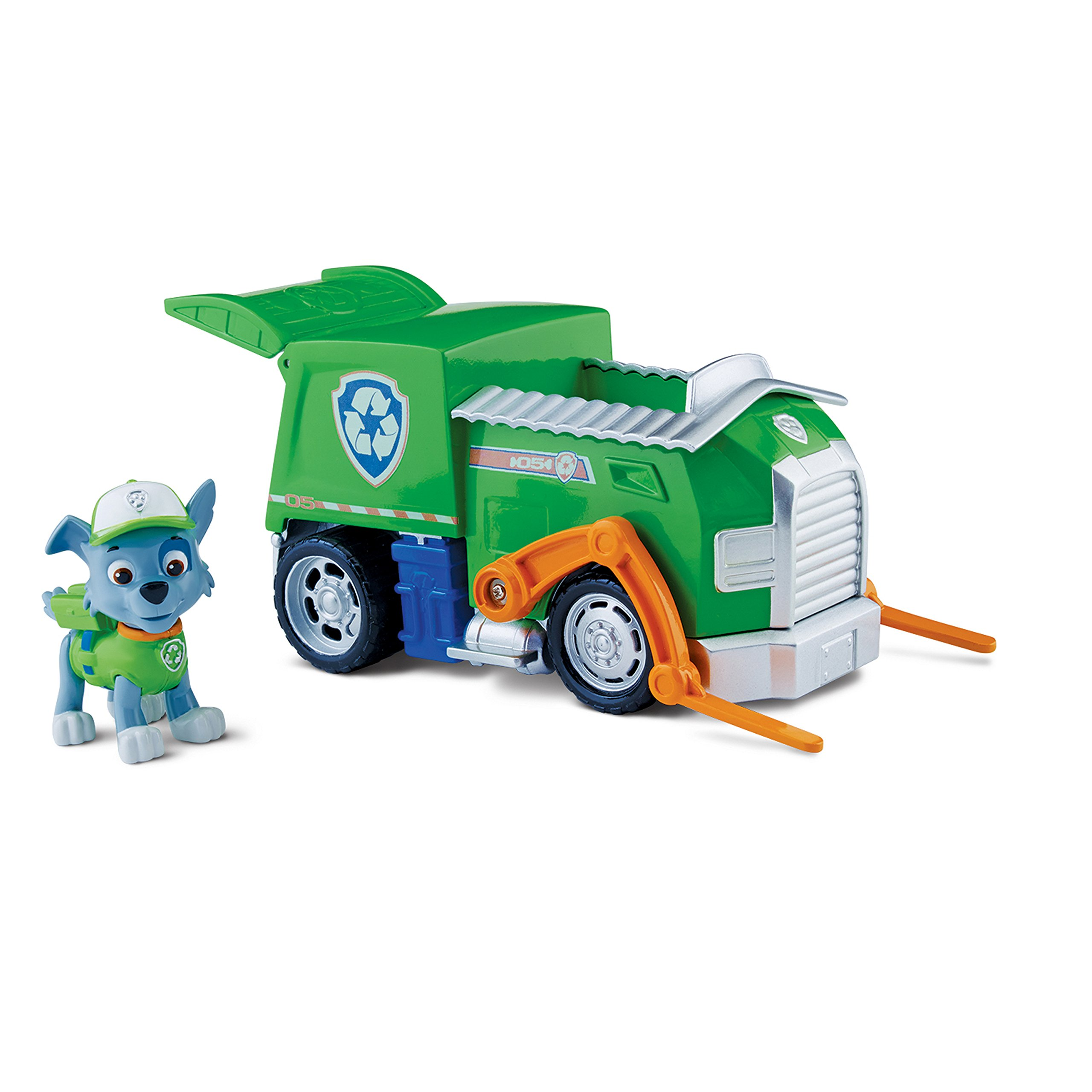 Paw Patrol Rocky's Recycling Truck, Vehicle Figure