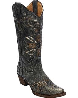 822ccf5cf17 Amazon.com | Corral Boots Womens C1198 | Mid-Calf