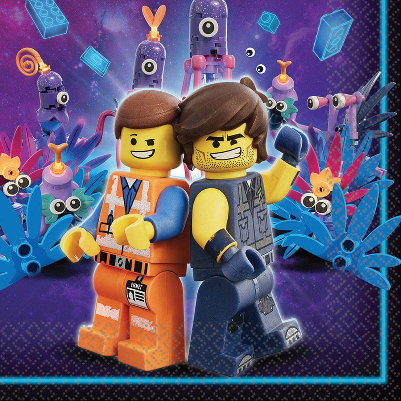 The Lego Movie 2 Luncheon Napkins
