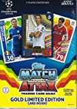 2017-18 Topps UEFA Match Attax TCG 2-Player Starter Box, With 38 Cards Per Tin Including A Game Mat
