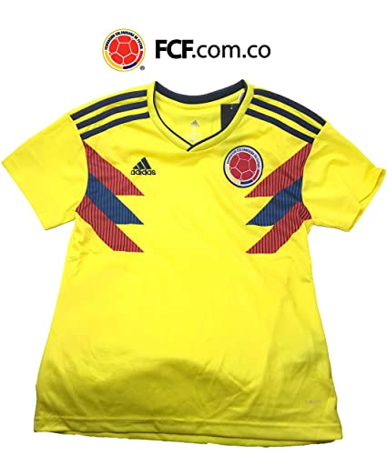 Replica 2018 Russia FIFA Colombia Soccer Home Jersey for Adults. Camiseta de la seleccion Colombiana