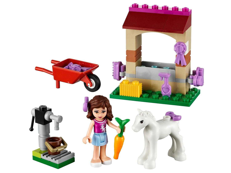 lego friends 41003 jeu de construction olivia et son bb poulain amazonfr jeux et jouets