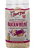 Bob's Red Mill, Organic Whole Grain Buckwheat Groats, Gluten Free, 16 Ounce (453 g)