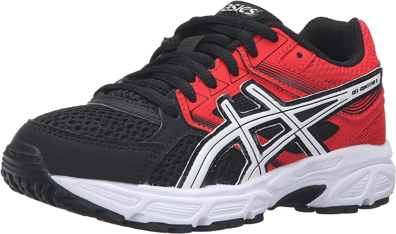 Asics Gel Contend 3 PS Jovenes US 6.5 Negro Zapato para Correr: Amazon.es: Zapatos y complementos