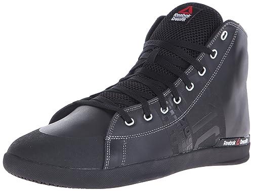 Reebok Crossfit Lite TR Mid 2.0 - Zapatillas de Entrenamiento para Hombre, (Negro/Gris Plano), 16 D(M) US: Amazon.es: Zapatos y complementos