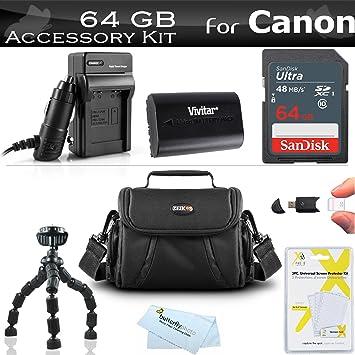 Amazon.com: 64 GB – Kit de accesorios para Canon EOS 60d ...