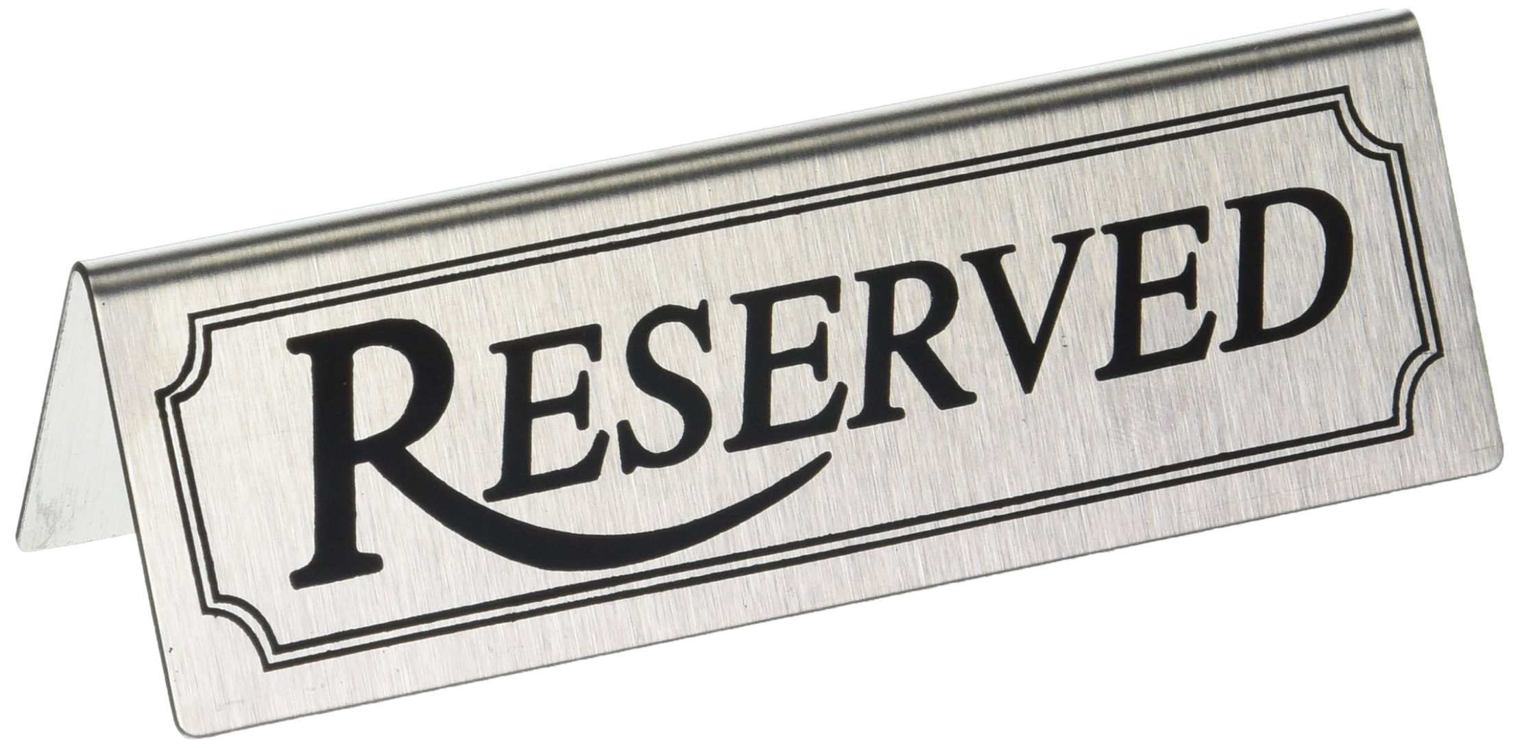 best reserve signs for tables amazon com