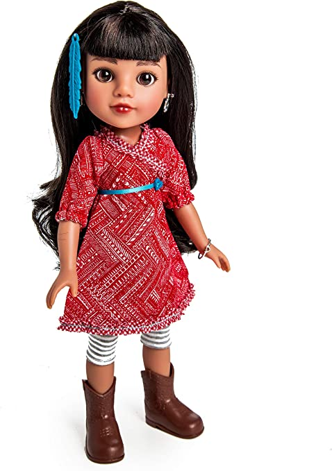 USA Doll 36116 Heart For Hearts Girls Mosi Native American