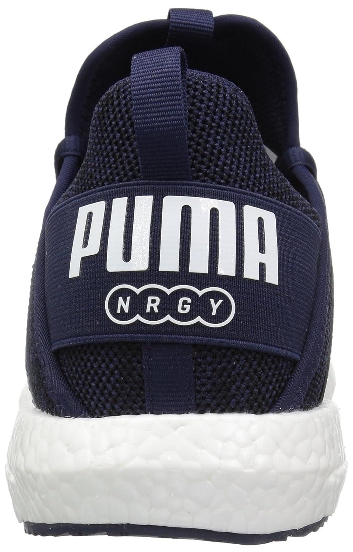 PUMA Men's Mega Peacoat Nrgy Knit Turnschuhe, Peacoat Mega Weiß, 9 M US abfb5a