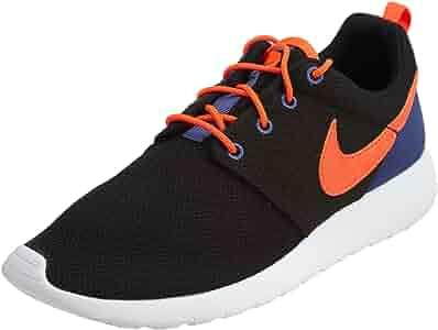 6 M US Big Kids Shoes Black//Metallic Silver//White 599728-021 GS Nike Air Roshe One