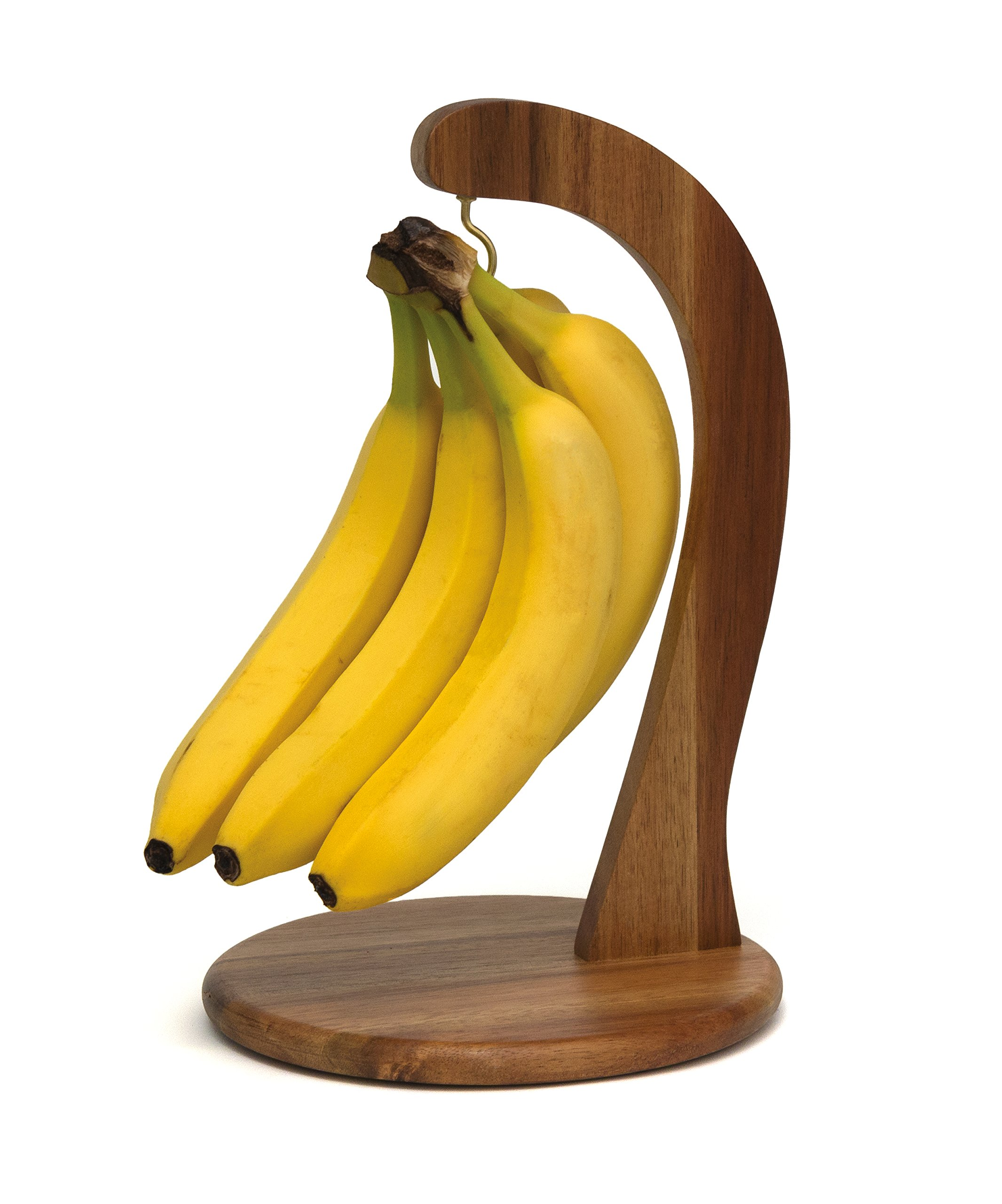 Lipper International 1156 Acacia Wood Banana Hanger, 7-1/4'' x 11-1/4'' by Lipper International (Image #2)
