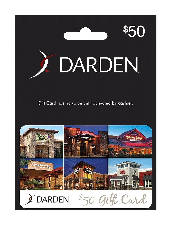 Amazon Darden Restaurants Gift Card $25 Gift Cards